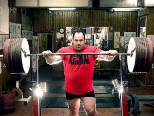 Andrey Malanichev, recordman de Powerlifting