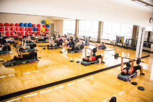 Salle de body pump