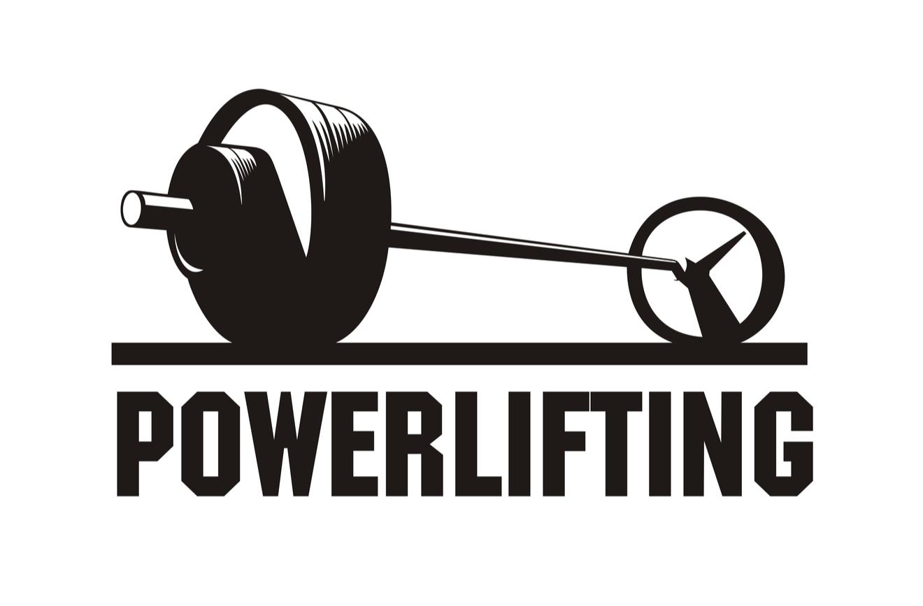 Logo Powerlifting Noir Et Blanc
