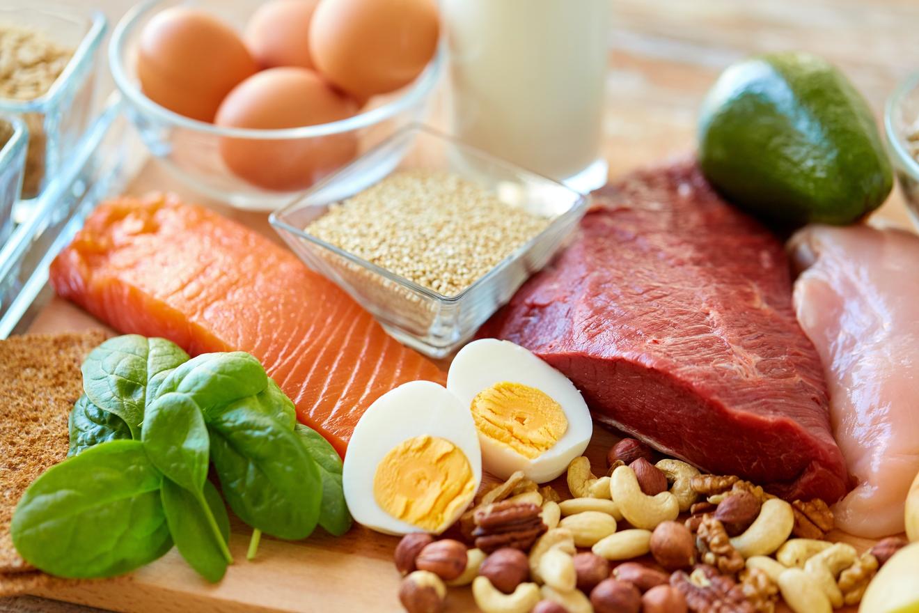 Assortiment De Protéines à Consommer Avant Une Séance De Musculation